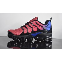 "2018 Nike Air Max Plus TN VM ""Wine Red"" Vapormax Vapor Max Men Women Fashion Running Sneakers Sport Shoes"