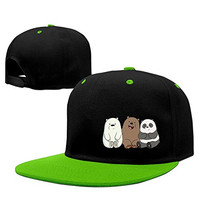 We Bare Bears Care Bears Chloe Park Adjustable Hip Hop Cap Unisex Adult