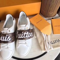 Louis Vuitton New Embroidered White Shoes