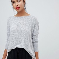 Only knitted wide neck jumper at asos.com