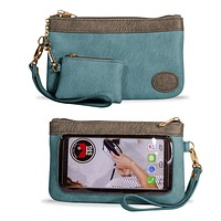 Accessories Catchy Clutch Purse Wrislet Touch Screen - CC1004-1000-1003 SB