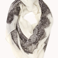 Eclectic Antique Pattern Scarf