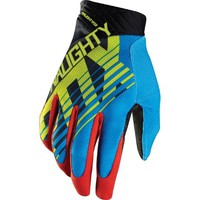 GLOVES NAUGHTY FOX MX MTB Motocross Full Finger ATV, Dirt Bike Racing
