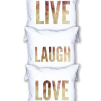 Live / Love / Laugh - Pillow Set