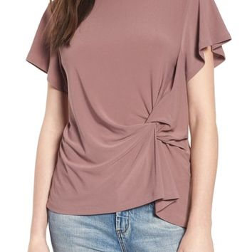 Leith Side Knot Tee   Nordstrom