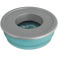 Good2Go Blue No-Spill Dog Bowl | Petco