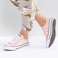Converse Chuck Taylor All Star low trainers in pink at asos.com