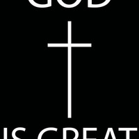God Is Great Print Art Print by productoslocos | Society6