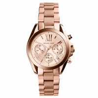 Bradshaw Rose Gold-Tone Stainless Steel Watch | Michael Kors