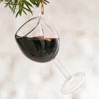 Wine Glass Ornament - Urban Outfitters