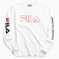 FILA Change The Game Long Sleeve Tee | Urban Outfitters