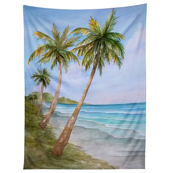 Rosie Brown Swaying Palms Tapestry