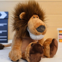 Popular Lion Stuffed Doll Plush Animal TOYS 25CM