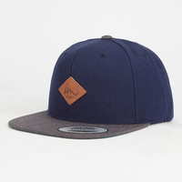 Imperial Motion Alvin Mens Snapback Hat Navy Combo One Size For Men 27254521101