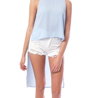 Spring Vibe High-Low Top
