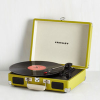 Dorm Decor Take Your Turntable in Green by ModCloth