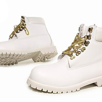 Top quality & lower price timberland Custom 6-Inch boots White Gold for sale, timberland boots discount satisfy you