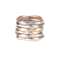 Set of Six Stackable Rings
