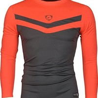 jeansian Men's Casual Sport Quick Dry Long Sleeves T-Shirts Tees LA153