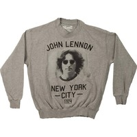 John Lennon Men's  John Lennon New York Sweatshirt Heather