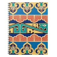 Chinese Japanese Geometric Pattern Design Oriental Note Books