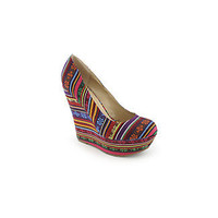 Breckelles Cilo-05S womens wedge shoe