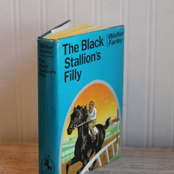 Vintage Books - The Black Stallions Filly - The Island Stallion