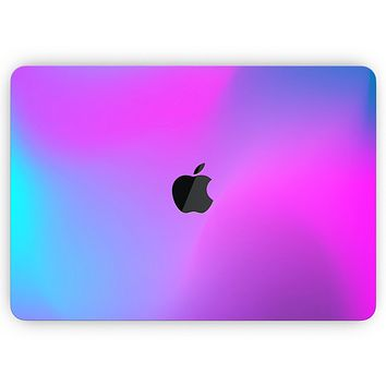 """Neon Holographic V1 - Skin Decal Wrap Kit Compatible with the Apple MacBook Pro, Pro with Touch Bar or Air (11"""", 12"""", 13"""", 15"""" & 16"""" - All Versions Available)"""