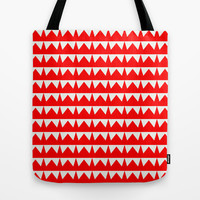 jagged Tote Bag by holli zollinger