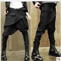 Men's Pants casual Full Length harem pant