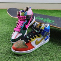 Best Onlie Sale Nike SB Dunk High What The Doernbecher Sneaker Skateboard Shoes