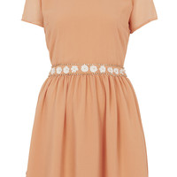 Peterpan Flower Flippy Dress - Dresses - Clothing - Topshop USA