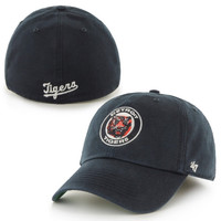 Detroit Tigers '47 Brand Franchise Coppoerstown Collection Fitted Hat - Navy Blue