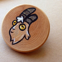 Gravity Falls Gompers Brooch