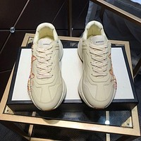 Gucci Men Fashion Boots fashionable Casual leather Breathable Sneakers Running Shoes-1389