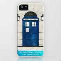 Doctor Who & Sherlock iPhone Case by Sof Andrade | Society6