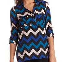 PRINTED PULLOVER TUNIC