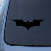 BATMAN BEGINS - Vinyl Decal Sticker #A1076 | Vinyl Color: Black