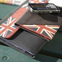 Hand Made Leather Flag Wallet