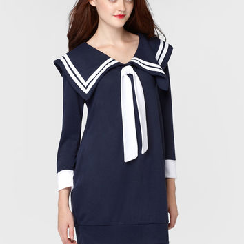 Sweet-Hearted Sailor Dress