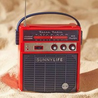 Sunnylife Retro Sounds Radio Speaker