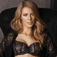 Sheer Balcony Bra Sermija Mademoiselle Chante Le Blues 173-16L