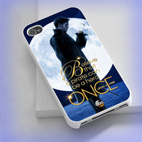 Cover phone case Once Upon a Time Captain Hook Believe 2 for iPhone 4/4s, iPhone 5/5s/5c, iPod 4/5, Samsung Galaxy s3/s4