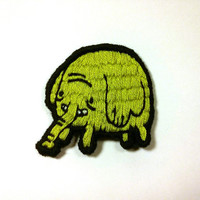 Treetrunks Embroidered Patch - Adventure Time Gift Brooch Applique