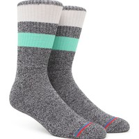 On The Byas Basic Gym Life Crew Socks - Mens Socks - Green - One
