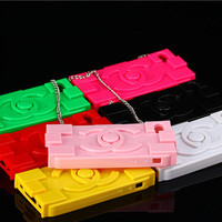 Yellow Color iPhone Case , Silicone Samsung Galaxy S4 Case , for Samsung Note 2 Case , iSamsung Galaxy S3 Case , 6 Color Choose