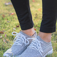 Up And Running Sneakers, Gray