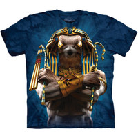 HORUS SOLDIER The Mountain Ancient Egyptian Mythology God Of Sky T-Shirt S-3XL