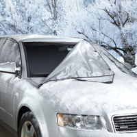 The Quick Removal Windshield Snow Tarp