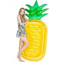 190cm Pineapple Swimming Float Air Mattress Water Gigantic Donut Pool Inflatable Floats Pool Toys Swimming Float Adult Floats
